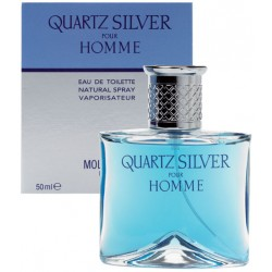 Quartz Silver pour homme Eau de Toilette 50ml EDT Molyneux Paris - OVP
