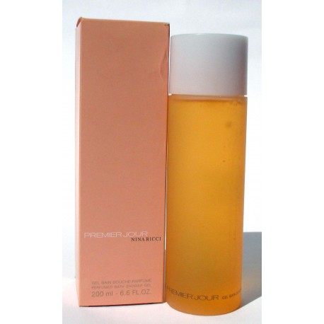 Premier Jour Nina Ricci Gel Bain Douche Parfume 200ml - Shower Gel - Paris