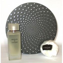 Perles De Lalique for women Eau de Parfum 100ml + minitature + Houppette pour le corps 5g - Confezione Regalo