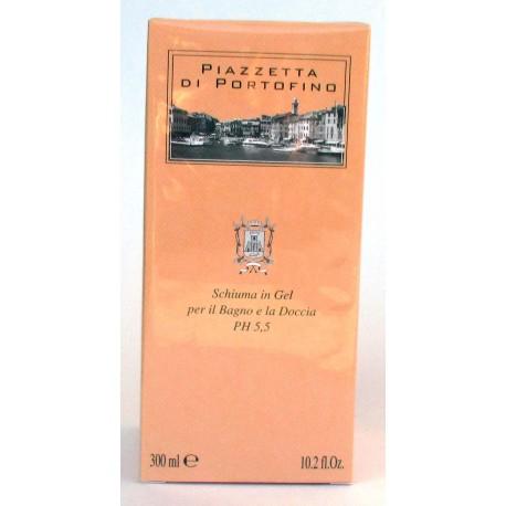Piazzetta di Portofino Schiuma Gel per Bagno Doccia PH5.5 - 300ml - Made in Italy