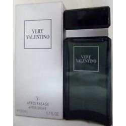 VERY VALENTINO 1.7 OZ AFTER SHAVE LOTION SPLASH FOR MEN VERY RARE FIND CLASSIC