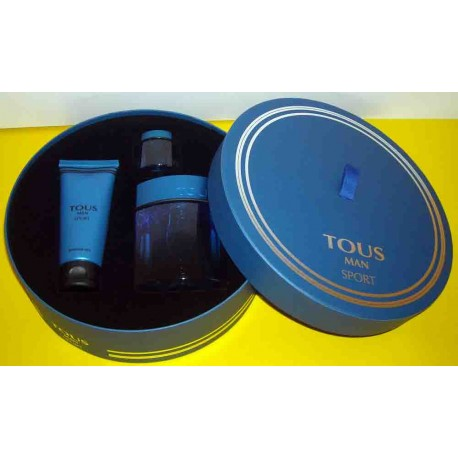 Tous Man Sport Tous for men Eau de Toilette 100ML EDT + miniature 4,5ml + Shower Gel 100ml - Confezione Regalo