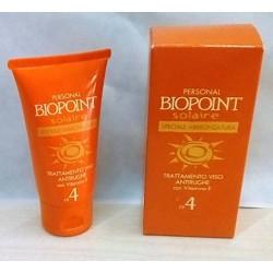 Biopoint solaire Trattamento viso antirughe FP4 50ml OVP