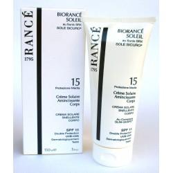 Biorance Soleil - Sole Sicuro SPF 15 - Crema solare snellente corpo UVB-UVA Rancè 1975