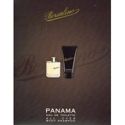 Panama Borsalino for men Eau de Toilette 50ml EDT + Gel Doccia 125ml - Confezione Regalo