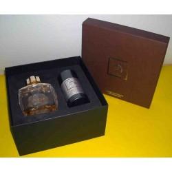 Lalique Pour Homme Equus MEN Eau de Parfum 75ml + Stick deodorant parfume san alcool 75g - onfezione Regalo RARE