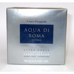 Aqua di Roma Uomo Laura Biagiotti for men After Shave 75ml OVP RARE
