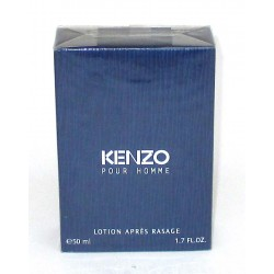 KENZO pour homme Lotion Apres rasage 50ml - RARE After Shave France - dopo barba 1.7 fl.oz.