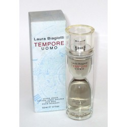 Laura Biagiotti TEMPORE uomo - After Shave 50ml - lotion apres rasage for men - dopo barba 1.7 fl oz