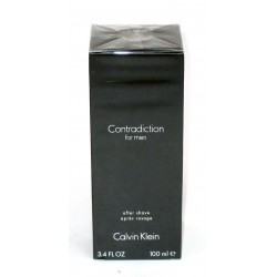 Contradiction for men - Calvin Klein After Shave 100ml - apres rasage - dopo barba 3.4 fl. oz.