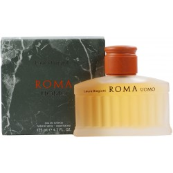 Laura Biagiotti ROMA UOMO Eau de Toilette 125ml spray - 4.2 fl. oz. EDT