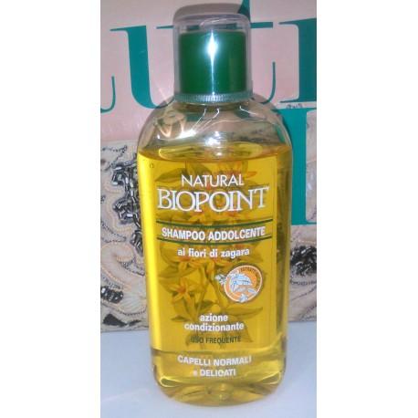 Natural Biopoint Shampoo Addolcente ai Fiori di Zagara Capelli Normali e Delicati 250ml