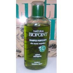 Natural Biopoint Shampoo Purificante alla Menta Acquatica Capelli Grassi e Misti 250ml