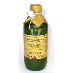 Erbario Toscano - Bagno Schiuma Olio di Oliva Bio, 250 ml nutriente e idratante - Made in Italy
