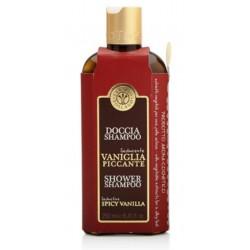 Erbario Toscano - Doccia Shampoo Vaniglia Piccante seducente 250 ml - shower spivy vanilla - Made in Italy