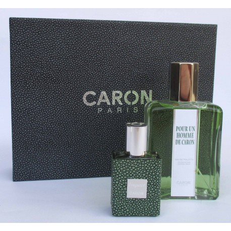 Pour Un Homme de Caron for men Eau de Toilette 200ml EDT + miniature 30ml - Confezioen regalo