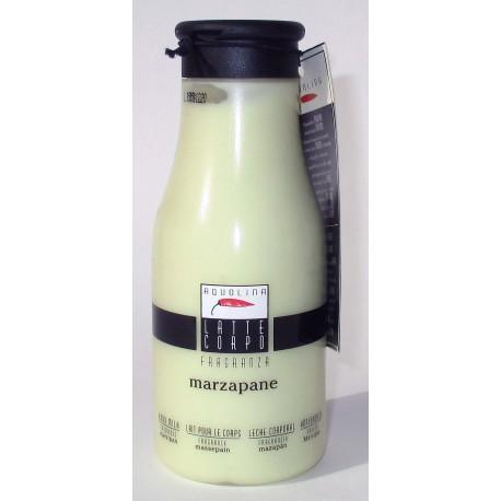 AQUOLINA Latte Corpo idratante 250ml al Marzapane, Creme Caramel, Arancia e Vaniglia, Gianduia