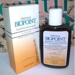 Personal Biopoint Shampoo Ravvivante al Sandalo Riflessi Castano e Dorati 200ml