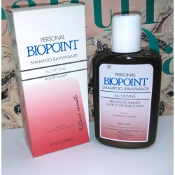 Personal Biopoint Shampoo Ravvivante all'Henné Riflessi Ramati 200ml