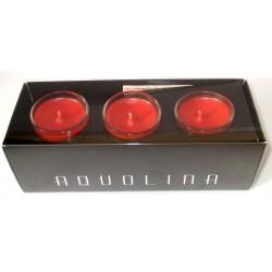 AQUOLINA - candele profumate q.tà 3 x 35g - cannella di ceylon fragrance