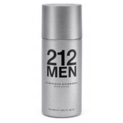 212 Men di Carolina Herrera da uomo Deodorant Natural Spray 150 ml