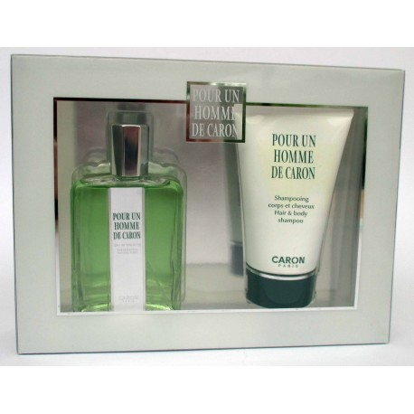 Pour Un Homme de Caron by Caron for men Eau de Toilette 125ml + Hair e body shampoo 125ml - Confezione Regalo