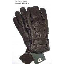 Esclusivi Guanti Uomo in vera pelle Nera Tg. M - Nuovo - Black Leather OriginalNero