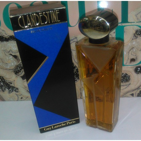 Clandestine Guy Laroche for women Eau de Toilette 100 ml EDT OVP RARE