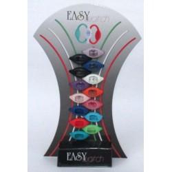 Orologio Easy Wath in silicone 1 Orologio + 1 bracciale ricambio rosso, nero, bianco, arancio, blu, lilla, rosa