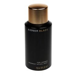 Deodorante spray Aigner Black (nero) 150ml Deodorant woman - donna natural spray