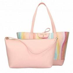 borsa bag Patrizia Pepe New Collection reversibile color festival