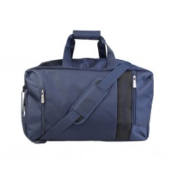 Borsa da viaggio TRUSSARDI Jeans travel bag - 71B963T_46 - blu navy, tracolla, zip, tasconi