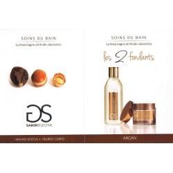 Argan Soind Du Bain - Les 2 Fondants all'Acido Jaluronico: Bagnodoccia 200ml + Burro corpo 50ml
