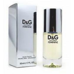 D&G Feminine EDT 50 ml Woman OVP