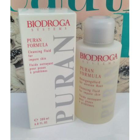 Biodroga Pure Formula Cleansing Fluid for impure skin 200 ml Woman