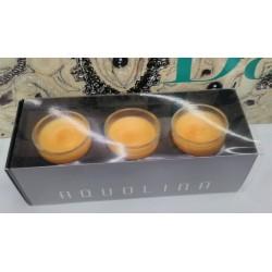 Aquolina candele profumate 3x 35gr. fragranza Ginger Tea RARE
