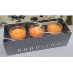 Aquolina candele profumate q.tà 3x 35gr. fragranza Frutta Esotica RARE