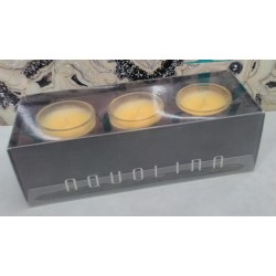 Aquolina candele profumate q.tà 3x 35gr. fragranza Polpa di Melone RARE