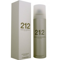 Carolina Herrera 212 Refreshing deodorant natural spray 150 ml Woman OVP