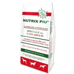 NUTRIX PIU' mangime completo per cani adulti Kg. 20