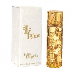 Elle L'aime Lolita Lempicka for women 80 ml Eau de Toilette EDT NUOVO OVP