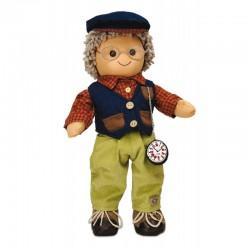 Bambola di pezza My Doll Bambolo Nonno grandfather 42cm cod. BL016