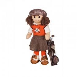 Bambola di pezza My Doll Golfista con accessori 42 cm - cod. BF007