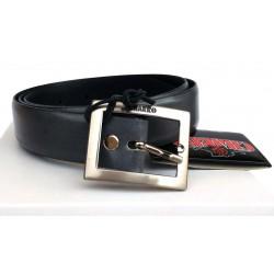 Low Cost - Cintura Uomo in vera pelle/cuoio grigio perla CHARRO tg. 110 cm