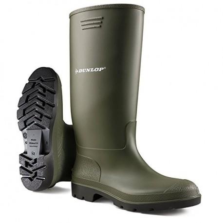 Stivali gomma Dunlop colore verde