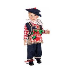 Costume bimbo Piccolo Pasqualino Ciliegino Cerasiello cod. 5064