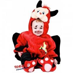 Costume bimbo 6/9 mesi, Dolce Diavoletto cod. 2934- Carnevale Veneziano