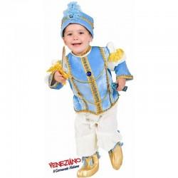 Costume Carnevale bimbo Taglia 3, Principino Indiano cod. 2400- Veneziano