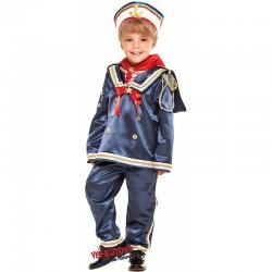 Costume Carnevale bimbo Taglia 3, Marinaio cod. 28077- Veneziano