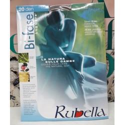 Bi-Fase Rubella Collant 20 den Woman Colore Fumè Taglia 4